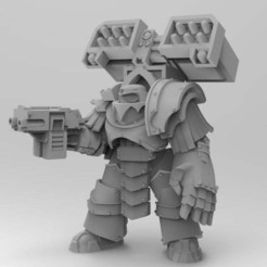Download free OBJ file Legion Elites - 4th Legion Siege Breakers • 3D printable model, ThatEvilOne