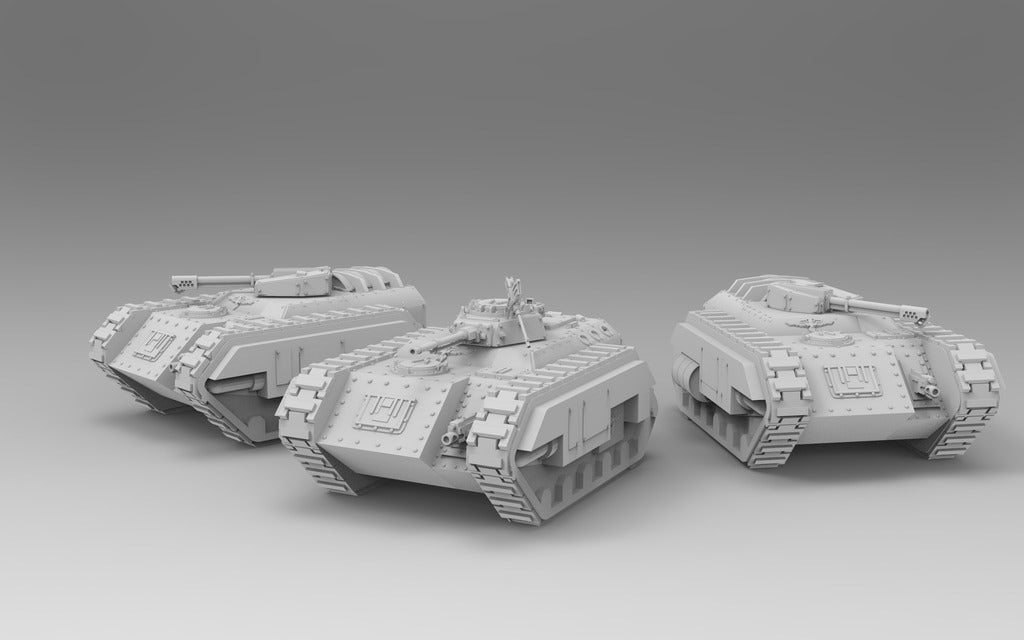 f94fc352929130bbbe26375fb36f4de7_display_large.jpg Download free STL file Kimera Armoured Transport - Spearhead the Assault • 3D print design, ThatEvilOne