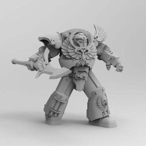 4a3fbf6a44508e667664438589e2134d_display_large.jpg Download free STL file 1000 Followers! 3rd Legion - FireBird Terminators • 3D printing model, ThatEvilOne