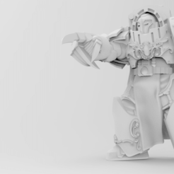 Download free STL file Lord Commander Illios - Ravager of Apollonia • 3D printable design, ThatEvilOne