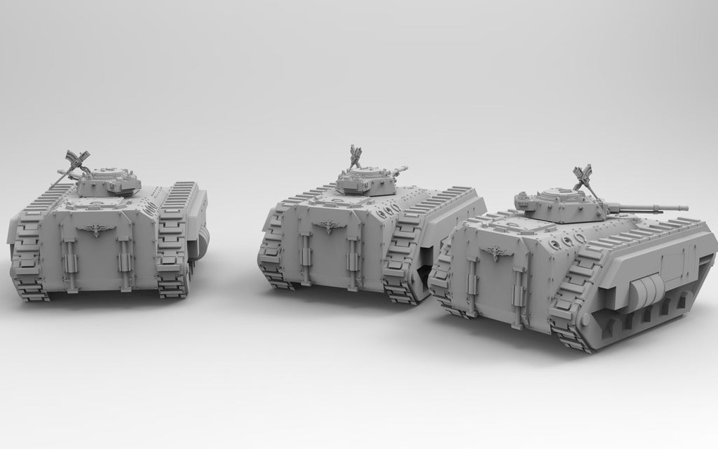 995f68c82001ad1276a10e061dad5261_display_large.jpg Download free STL file Kimera Armoured Transport - Spearhead the Assault • 3D print design, ThatEvilOne