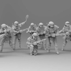 Download free 3D printer model Sappers - Roman Engineers, ThatEvilOne