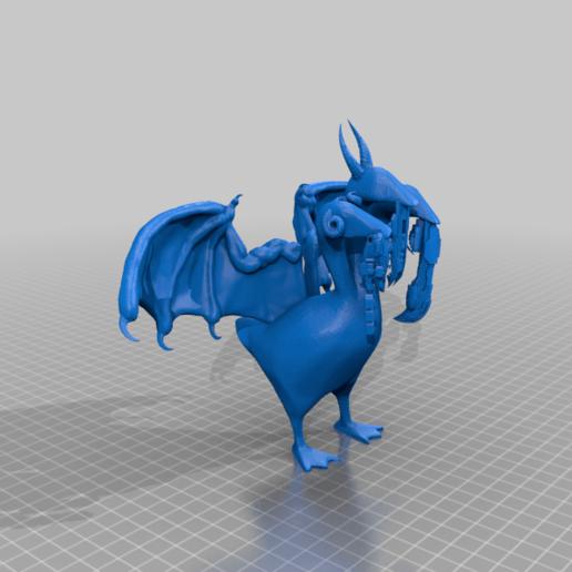 Télécharger fichier OBJ gratuit Les Titans de la Mouette - Une pièce de propagande en écho à Eve • Design à imprimer en 3D, ThatEvilOne