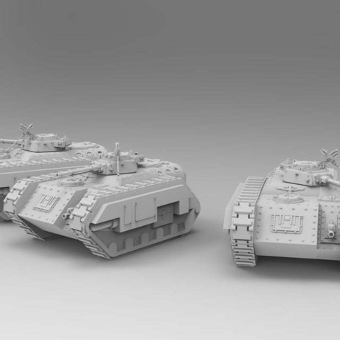 0fe8b2faabf9bdf9fee8c398a8b65082_display_large.jpg Download free STL file Kimera Armoured Transport - Spearhead the Assault • 3D print design, ThatEvilOne