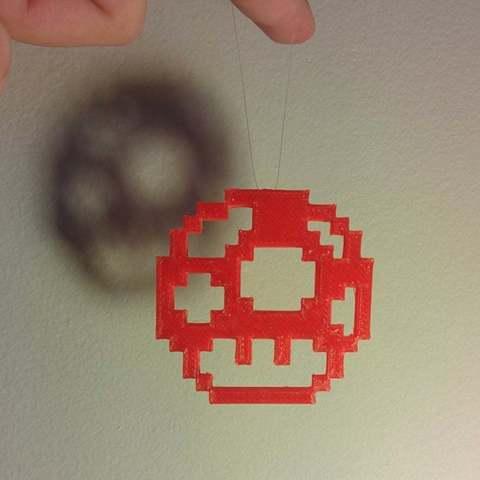 Descargar Modelos 3D para imprimir gratis Adorno de setas Mario, Djindra