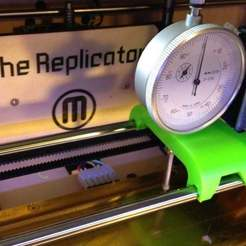 Download free 3D printing files Dial Indicator Mount For Replicator, Djindra