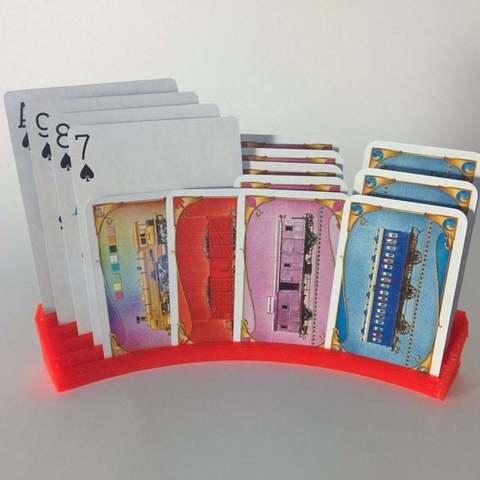 Télécharger STL gratuit Porte-cartes à jouer Ultimate, Djindra