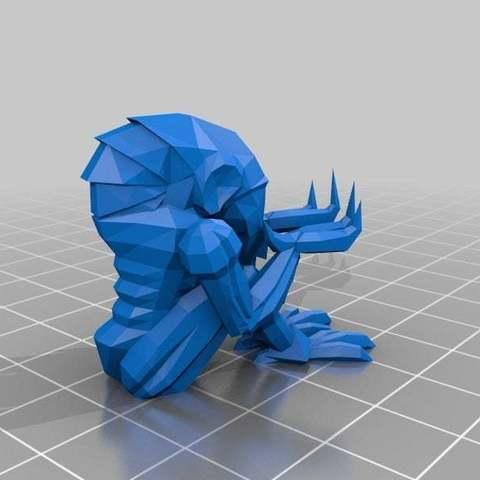 Télécharger modèle 3D gratuit Support Chozo à fond plat, Djindra