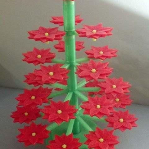 Descargar Modelos 3D para imprimir gratis Árbol de Poinsettia, Djindra