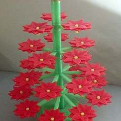 Download free 3D printer files Poinsettia Tree, Djindra