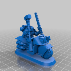 Download free 3D printing templates Biker Smash Lord, Wasber