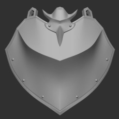 Impresiones 3D Rising of the Shield Hero - Naofumi Iwatani, armadura de cosplay, Heff8