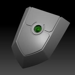 Descargar STL El surgimiento del héroe del escudo, Naofumi Iwatani Cosplay - Shield, Heff8