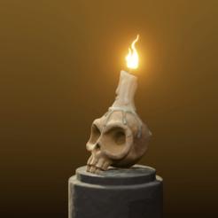 1.png Download STL file Stylized Skull Halloween Special • 3D printing design, Khatri3D