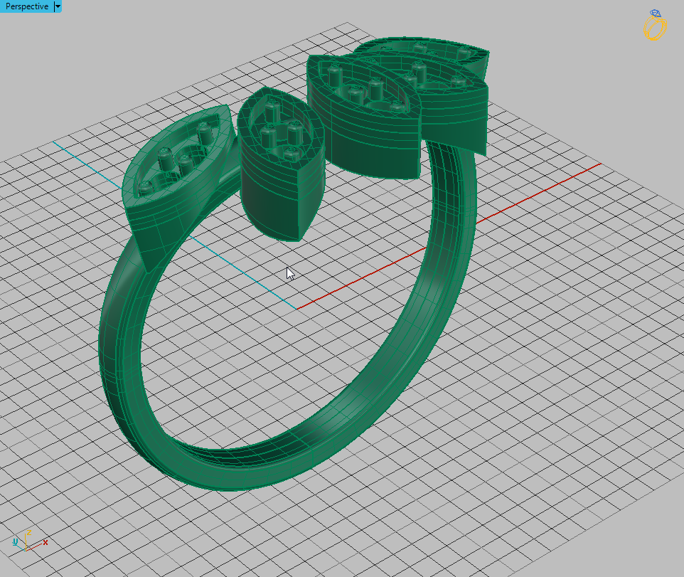 22 (4).png Télécharger fichier OBJ gratuit Bague Marquise • Plan à imprimer en 3D, Khatri3D