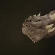 Download 3D printer designs Dragon Head Bust, Khatri3D