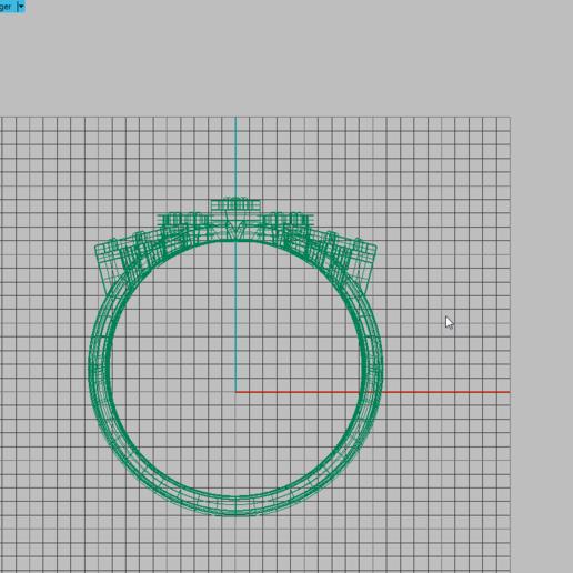 22 (7).png Télécharger fichier OBJ gratuit Bague Marquise • Plan à imprimer en 3D, Khatri3D