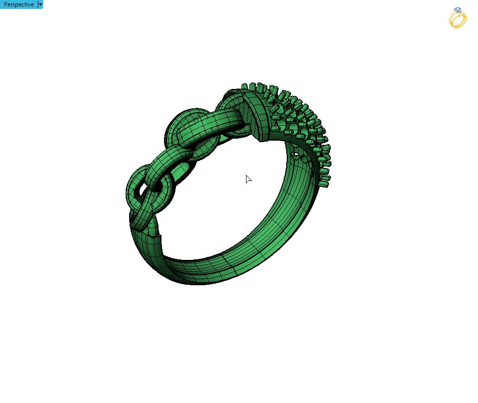 2019-06-10_19-20-56.png Télécharger fichier OBJ gratuit Bague de Chaîne avec Pierres Gemmes • Design pour impression 3D, Khatri3D