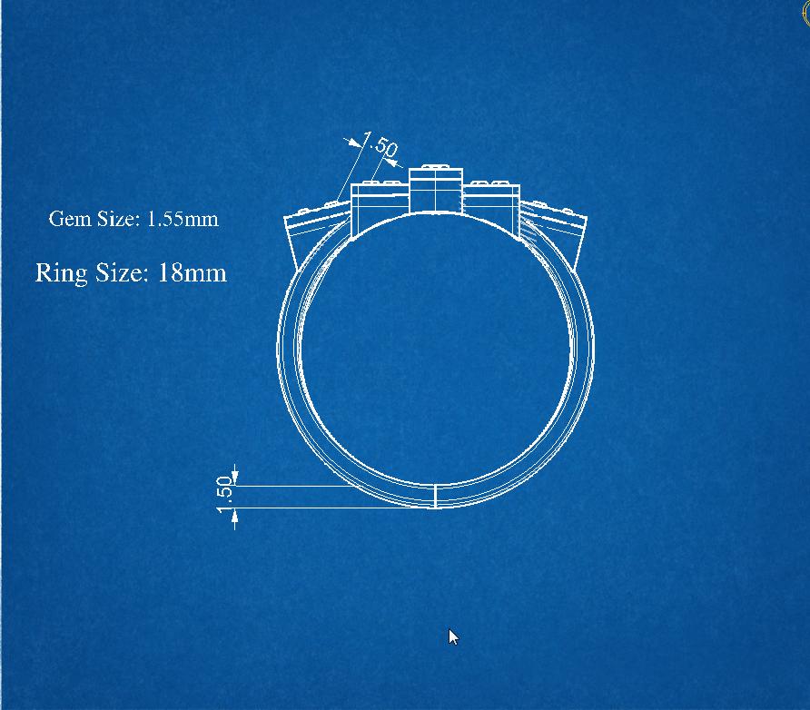 22 (2).png Télécharger fichier OBJ gratuit Bague Marquise • Plan à imprimer en 3D, Khatri3D
