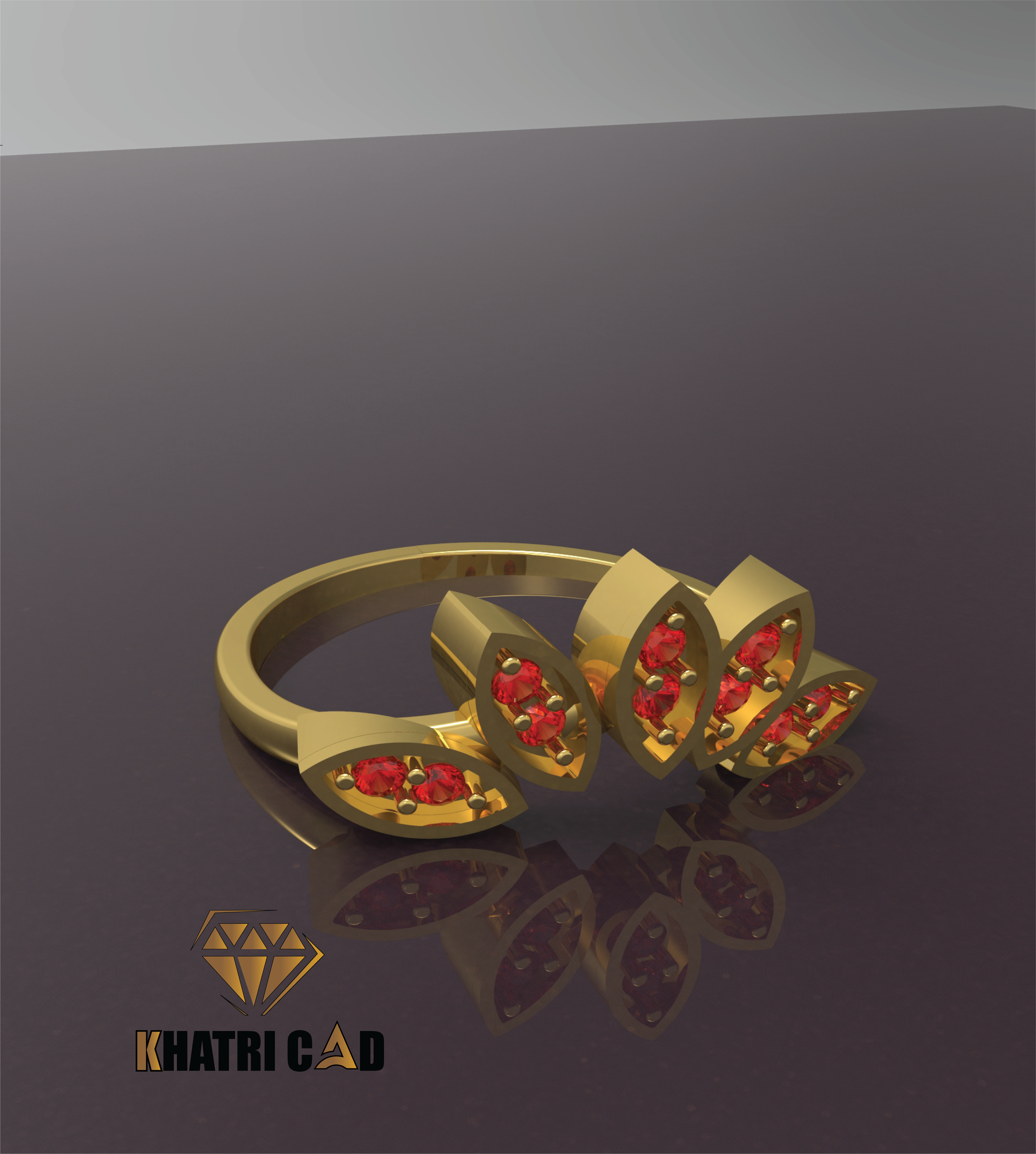 22 (1).png Télécharger fichier OBJ gratuit Bague Marquise • Plan à imprimer en 3D, Khatri3D