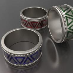 Download 3D printer files Enamel Ring, KhatriCad
