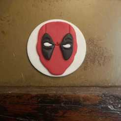 Descargar diseños 3D Cortador de Fondant/Cookie de Deadpool, phantomphnix