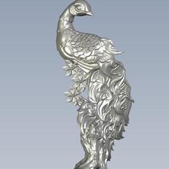 Télécharger STL gratuit peafowl, 1825813326