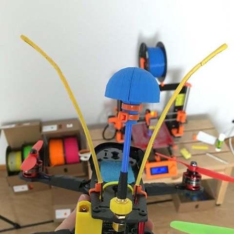 Télécharger fichier impression 3D gratuit Protecteur d'antenne Aomway, LydiaPy