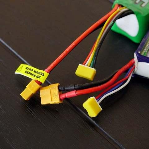 Télécharger modèle 3D gratuit Capuchons de connecteurs d'équilibrage 3S et 4S - JST-XH, LydiaPy