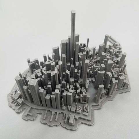 Descargar archivos 3D gratis Paisaje de la ciudad de Lower Manhattan, LydiaPy