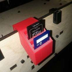 Download free 3D print files Another SD Card Holder, LydiaPy