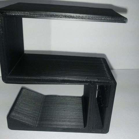 Download free 3D printer files Ikea Vika Amon Underdesk Headphone hanger, LydiaPy