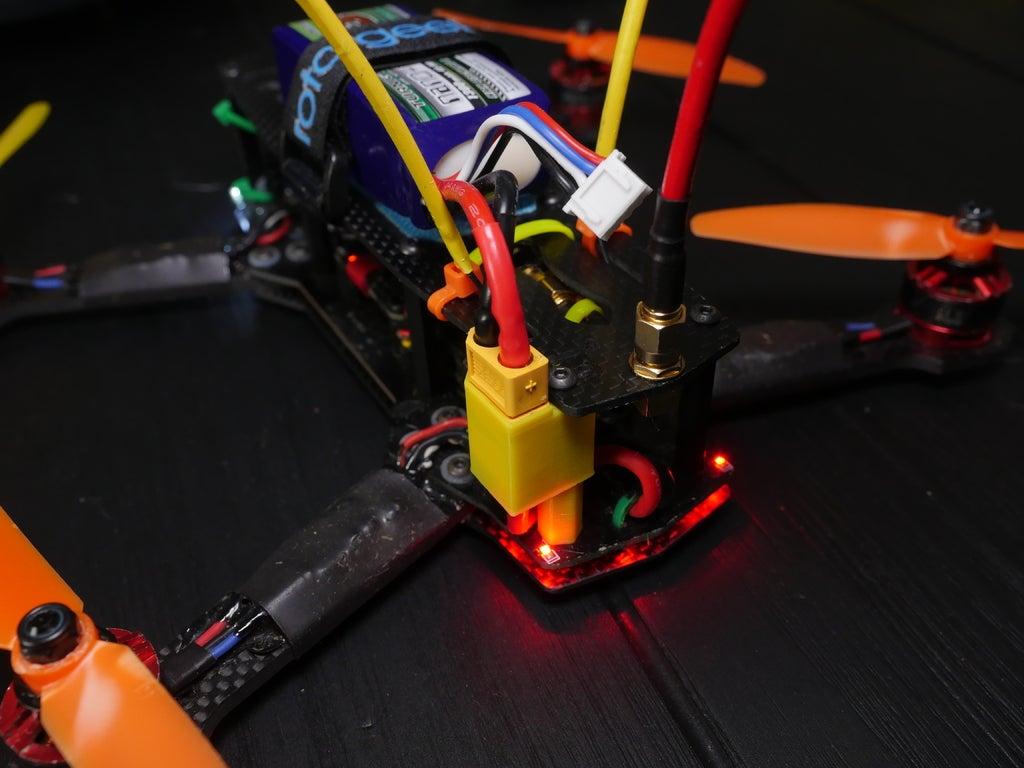 P1020331_display_large.JPG Télécharger fichier OBJ gratuit Support XT60 pour ZMR250 • Design pour imprimante 3D, LydiaPy