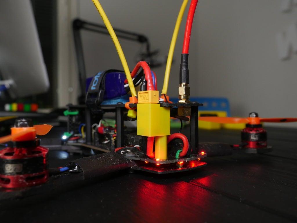 P1020332_display_large.JPG Télécharger fichier OBJ gratuit Support XT60 pour ZMR250 • Design pour imprimante 3D, LydiaPy