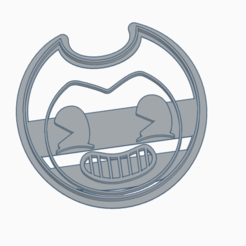 Download 3D printing templates BENDY - COOKIE CUTTER, StratOasiS