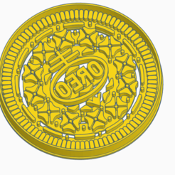 Download STL file OREO - COOKIE CUTTER, StratOasiS