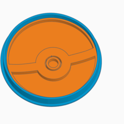 Download STL file POKEBALL COOKIE CUTTER • 3D printable model, StratOasiS