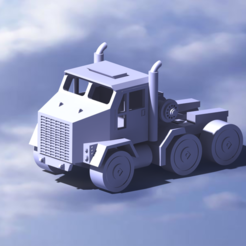 99-.png Download STL file truck(Modified by M1070) • 3D print object, Mechanic