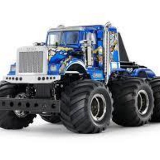 下載.jpg Download STL file American truck(can roll) • 3D print design, Mechanic