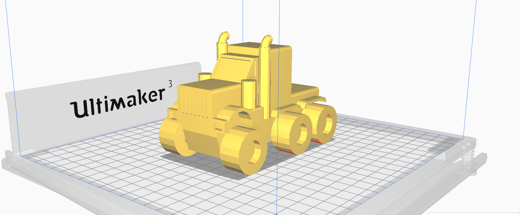 33.png Download STL file American truck (no container) • Template to 3D print, Mechanic
