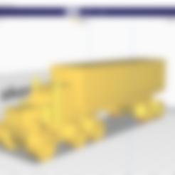 37 6-6-6.stl Download STL file American truck • 3D print design, Mechanic
