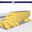 Download free 3D printing designs American truck, Mechanic