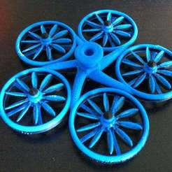 Download free 3D printing designs Hover Craft Inspired Spin Top, SimSimona