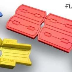Download free STL Flipping Folding Fun Toy, SimSimona