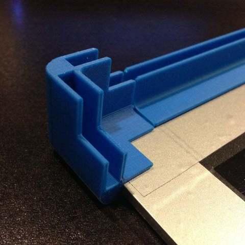 Télécharger fichier STL gratuit Mini système d'ossature modulaire - Bloc de coin et rail, SimSimona