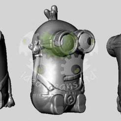 Download free 3D print files Minion (Happy Meal) 3D Scan, SimSimona