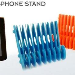 Download free STL file Springy Stand for Tablets and Smartphones, SimSimona