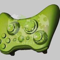 Xbox_controller_display_large.jpg Download free STL file XBox 360 Controller 3D Scan • Template to 3D print, SimSimona