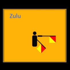 Download free 3D printer model Semaphore Zulu (Winkeralphabet) for multi colour prints, tom-harder-sec