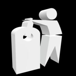 Télécharger fichier STL gratuit Symbole de recyclage du verre, tom-harder-sec